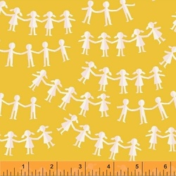Paper Dolls in Yellow
