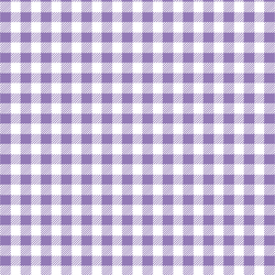 Small Buffalo Plaid in Amethyst