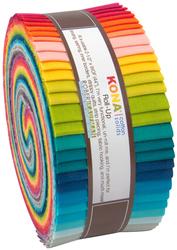 """Kona Solid 2.5"""" Strip Roll Curated By Elizabeth Hartman"""