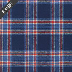 Mammoth Basic Plaid Flannel in Americana