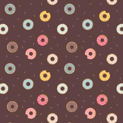 Doughnuts in Brown