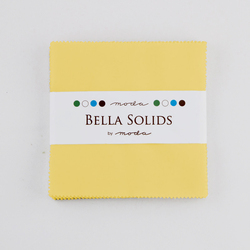 Bella Solids Charm Pack in 30's Yellow