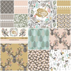 Autumn Fawn Fat Quarter Bundle