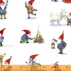 Winter Gnomes in Snow White