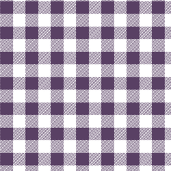 Medium Buffalo Plaid in Aubergine