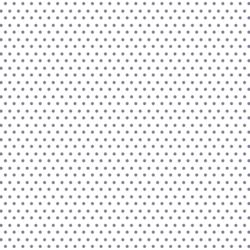 Polka Dots in Dove on White