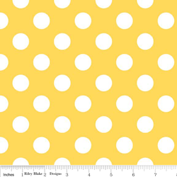 Medium Dots in Yellow