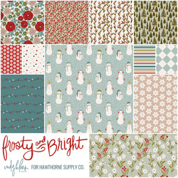 Frosty and Bright Fat Quarter Bundle