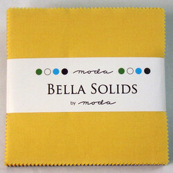 Bella Solids Charm Pack in 30's Colors