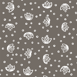 Scatter Floral in Stone