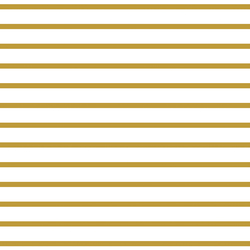 Small Modern Stripe in Warm Gold