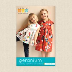 Toddler Geranium Dress