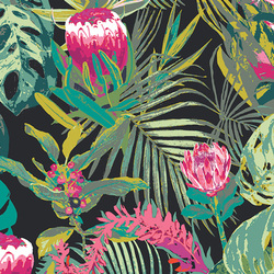 Tropicalia Rayon in Dark