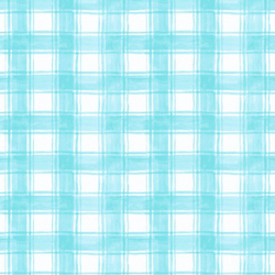 Plaid in Turquoise