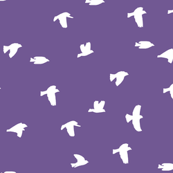 Flock Silhouette in Ultra Violet