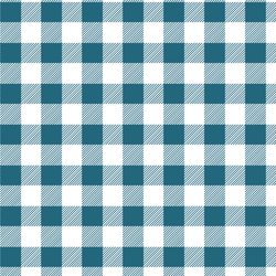 Medium Buffalo Plaid in Topaz