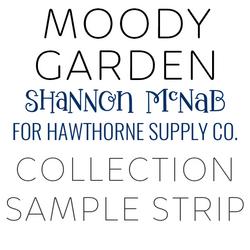 Moody Garden Sample Strip