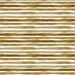 Watercolor Stripes in Golden