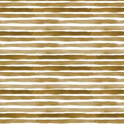 Watercolor Stripes in Golden
