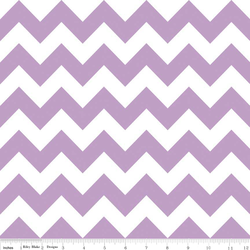 Medium Chevron in Lavender