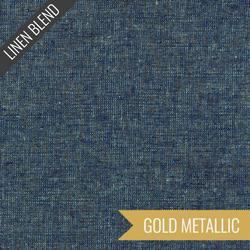 Essex Yarn Dyed Metallic in Ocean