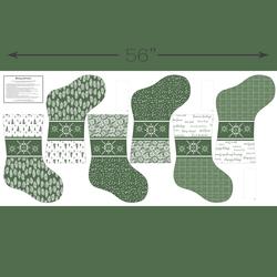 Stockings Panel in Kale