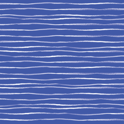 Sussex Stripe in Lapis Blue