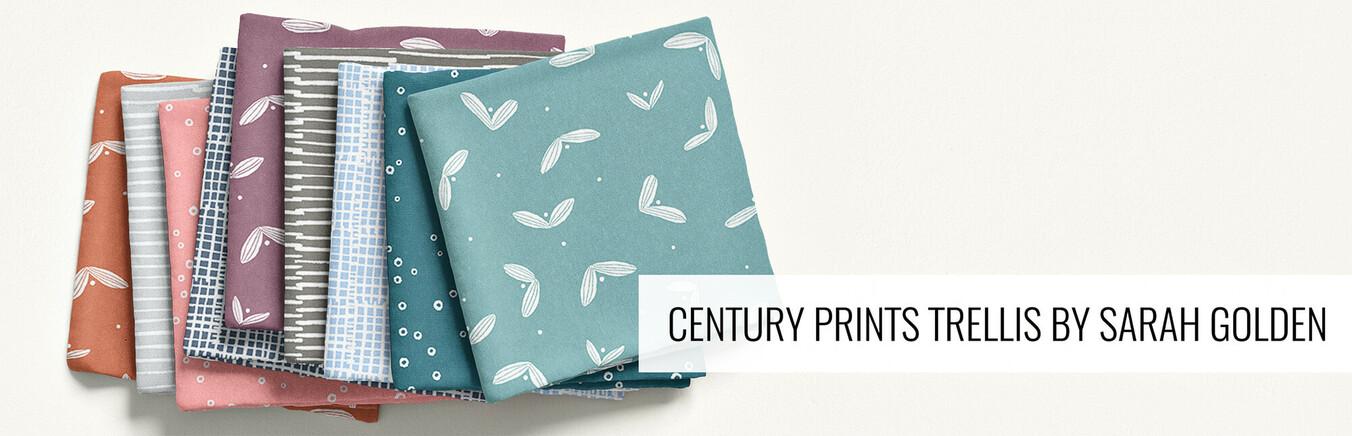 Century Prints - Trellis by Sarah Golden