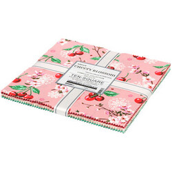 "Cheery Blossom 10"" Squares"
