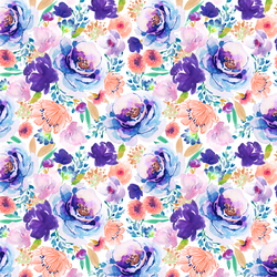 Small Enchanted Bloom in Ultra Violet