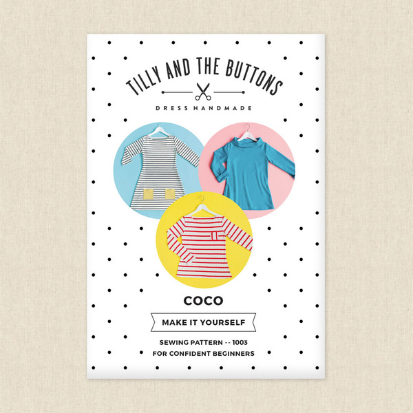 Coco Sewing Pattern by Tilly and the Buttons at Hawthorne Supply Co