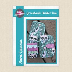 Greenbacks Wallet Trio
