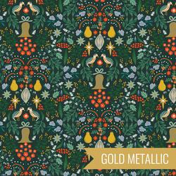 Partridge in Evergreen Metallic