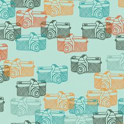 Captured Memories in Turquoise