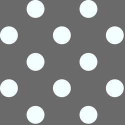Jumbo Dot in Charcoal