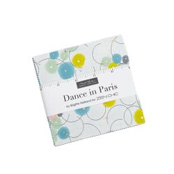 Dance in Paris Metallic Charm Pack
