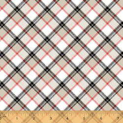 London Plaid in Ivory