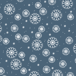 Snowflakes in Twilight