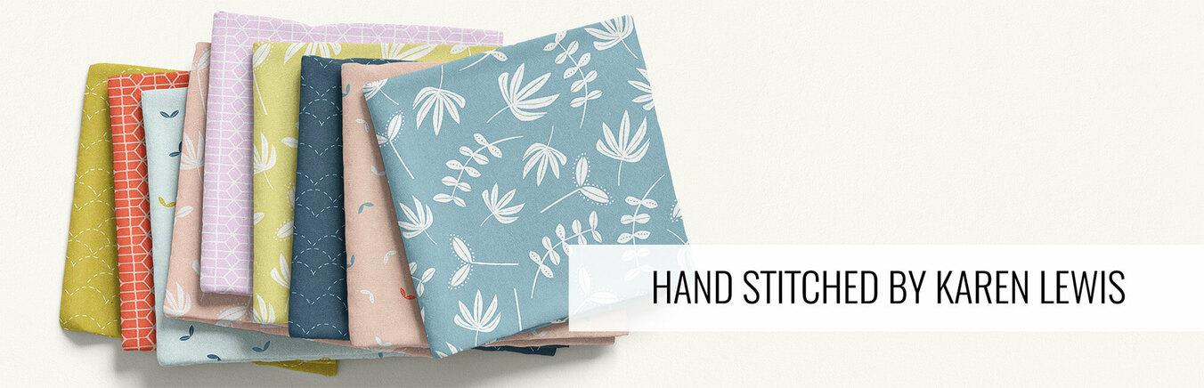 Hand Stitched by Karen Lewis