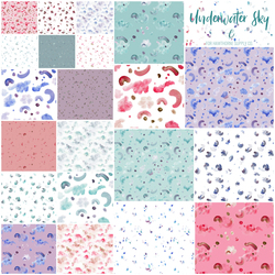 Underwater Sky Fat Quarter Bundle