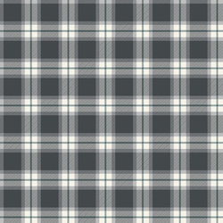 Plaid in Charcoal