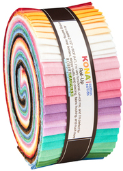 Kona Cotton Solids Roll Up in 30's