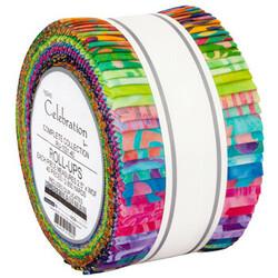 """Celebration Artisan Batiks 2.5"""" Strip Roll"""