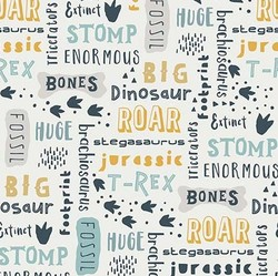 Fossil Words in Cream