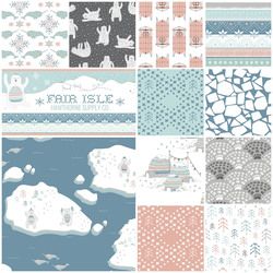 Fair Isle Fat Quarter Bundle