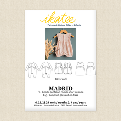 Madrid Jumpsuit, Playsuit and Dress - Baby