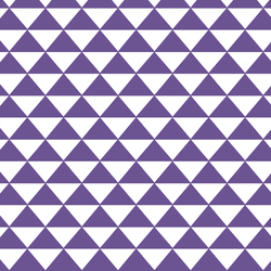 Triangle Mosaic in Ultra Violet
