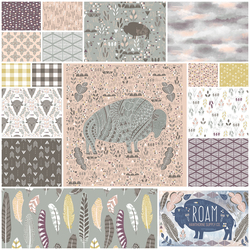 Roam Fat Quarter Bundle in Dusk