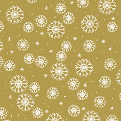 Snowflakes in Gold