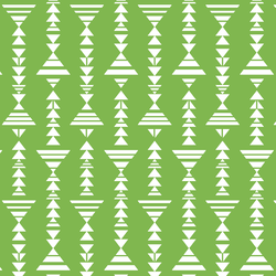 Little Tribal Stripe in Greenery